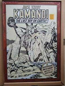 Jack Kirby Kamandi Volume 1 & 2  Artist's Edition Sealed NM