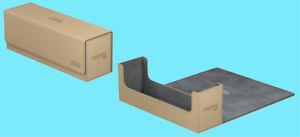 ULTIMATE-GUARD-ARKHIVE-SAND-XENOSKIN-FLIP-400-DECK-CASE-Card-Storage-Box-MTG