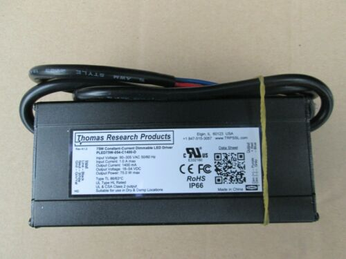 Thomas Research Products PLED75W-054-C1400-D LED DRIVER