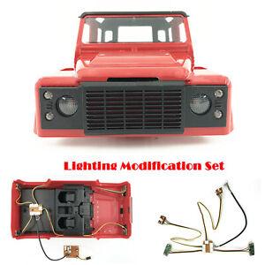 Iluminacion-Luces-de-actualizacion-modificacion-Kit-Para-1-12-MN99-MN99S-D90-RC-coche-de-escalada