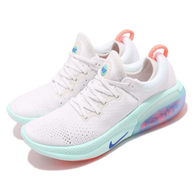 super popular 035a7 ba267 Nike Wmns Joyride Run FK Flyknit White Blue Womens Running Shoes AQ2731-100