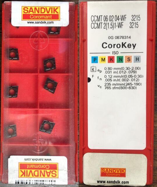 1-BF Grade FM324 Multi-Material CCMT 060204-BF Grade FM324 1.5 CCMT  2