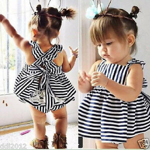 Baby-Girls-Summer-Clothes-Infant-Stripe-Backless-Princess-Dress-Brief-Outfit-Set