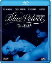 BLUE VELVET:David Lynch - Original uncensored version Japanese Blu-ray