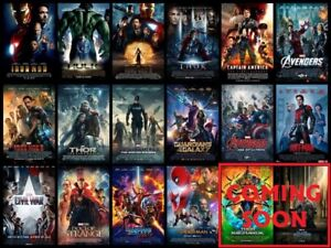 NEW & SEALED - Marvel 16-Movie FULL Current MCU Collection ...