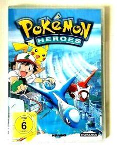 POKEMON-Heroes-DVD-2003-non-aperto-sigillati-con-il-calore