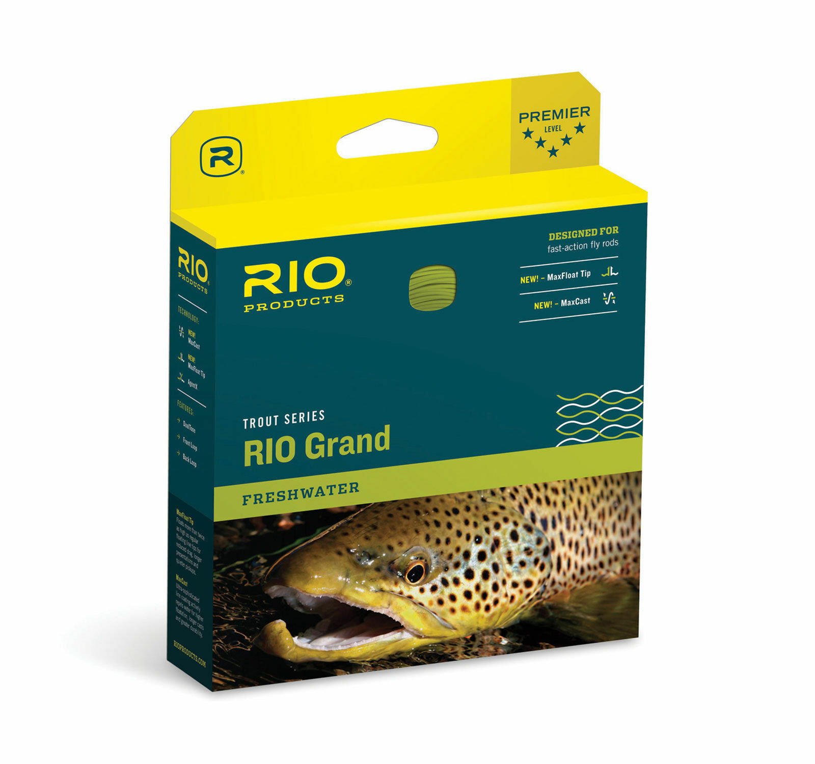 RIO Grand Fast Action Floating Fly Line WF5