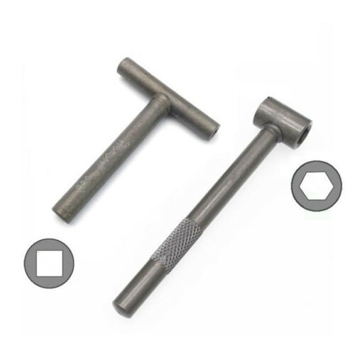 2x T Type Adjuster Wrench Spanner Motorcycle Scooter Engine Valve Repair Tool