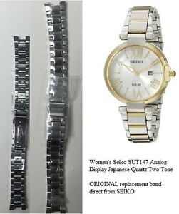 Image Is Loading Women 039 S Seiko Sut147 Og Display Two