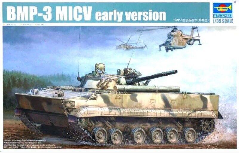 Trumpeter 1 35 BMP-3 MICV Early Version