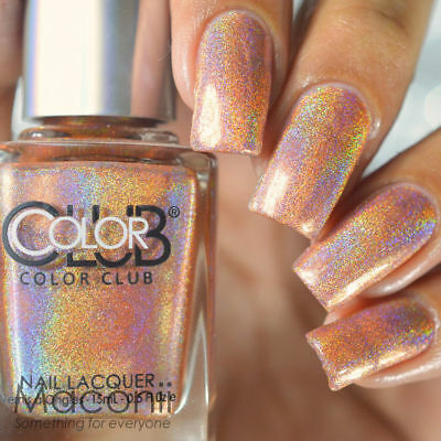 Color Club - Cosmic Fate - Halo Hues Copper Holo Holographic Nail ...