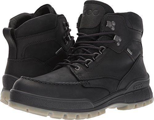 341d0bfcb75 ECCO Mens Core Tex Track 25 High Black Winter BOOTS EU Sz 41 4745 ...