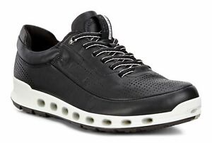 Details about Ecco Cool 2.0 Black Dritton G5 84251401001 Sneaker Leather Shoe