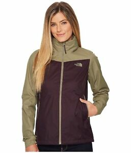 45d351a1e Details about Women's The North Face Resolve Plus Jacket NEW Purple/Green  sz S