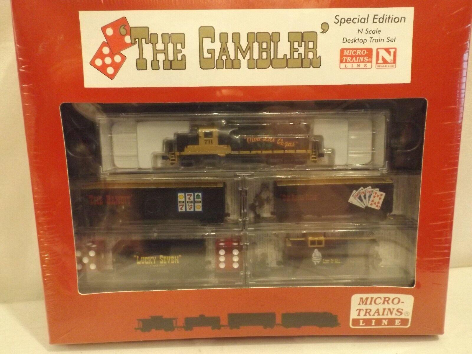 Spedizione gratuita al 100% N gauge Micro-i treni The The The Gambler train set, NIB  più economico