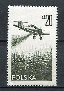 36063) Poland 1977 MNH Air Mail - Contemporary Aviation 1v