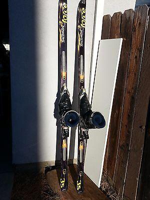 Salomon Axendo 7 Skis with Case and Leki Poles