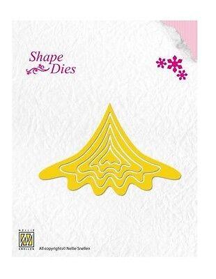 Nellies Choice Stanzschablone Shape Die - Weihnachtsbaum - Aufbau 671536