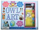 Owl Art: Hours of Fun with Cute Owl Art by Top That (Hardback, 2016)