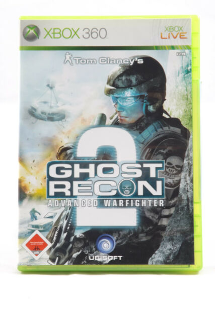Tom Clancy's Ghost Recon: Advanced Warfighter 2 (Microsoft Xbox 360) Spiel OVP
