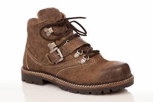 Details zu Marjo Trachten Herren Schuhe Stiefel Landhaus Boots MJ Bergschuh coffee Wiesn