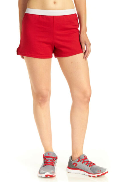 cec1cb9d36b Soffe Juniors Roll Waist Shorts Medium Red for sale online