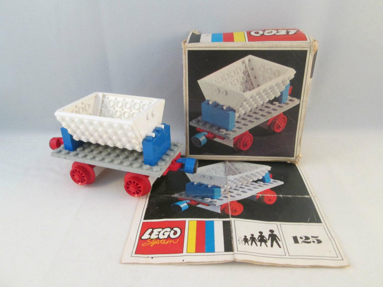 Lego Train 4.5V - 125 Tipping Wagon