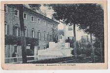 CARTOLINA BRESCIA MONUMENTO A NICCOLO TARTAGLIA RIF. 15657