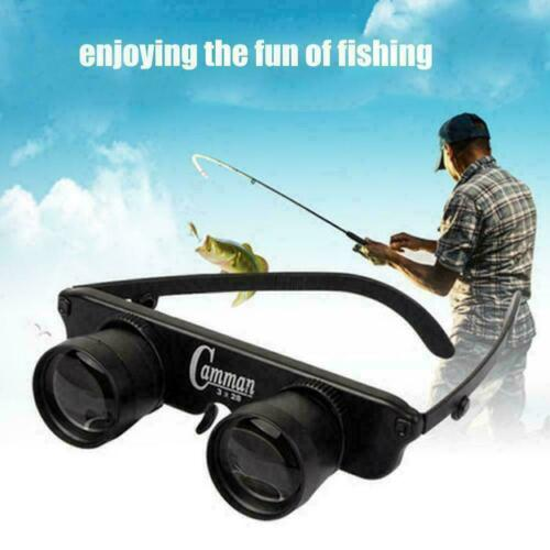 Optische Brille Brille Hand Free Outdoor Fishing Fernglas Tool Teleskop N9V F0D5