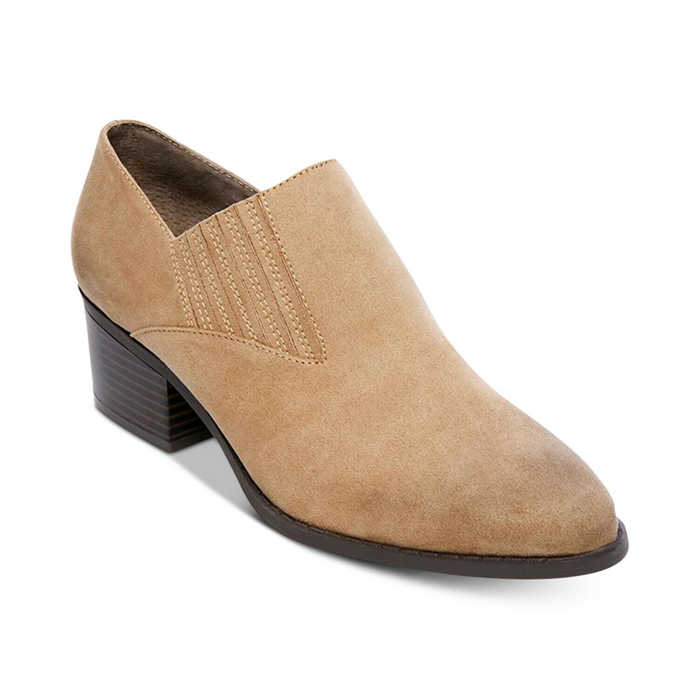 MADDEN GIRL Bruin Women Tan Microsuede Dress shoes