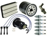 Toyota Sienna 1998 To 08/2000 High Quality Tune Up Kit Air Oil Fuel Filters on sale