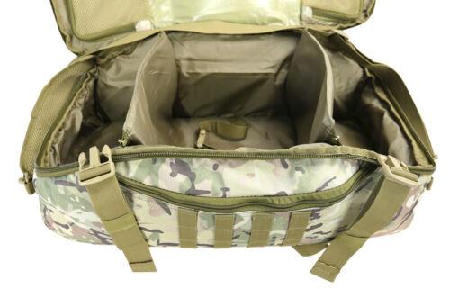 KOMBAT OPERATORS DUFFLE BAG 60 LITRE TACTICAL ARMY SHOULDER PACK MOLLE HOLDALL