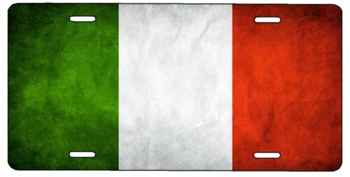 New ITALY ITALIAN FLAG Vanity License Plate