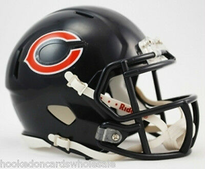 Chicago Bears Speed Mini Helmet Replica Riddell