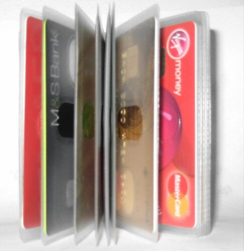 Wallet Inserts for 10 Cards Replacement Credit Card Purse Sleeves