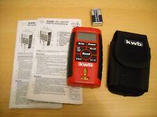 Entfernungsmesser Mit Neigungssensor : Kwb laser entfernungsmesser ld mit zubehör günstig kaufen ebay