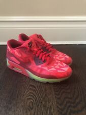 Nike Air Max 90 Ice University Gym Red Crimson Green Sz 12