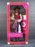 Barbie Doll 2011 Chile Dolls Of The World Pink Label