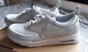 Conciso locutor nostalgia  Nike Air Max Thea Premium Damen Sneaker Neu Grau Gr.38,5 | eBay
