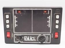 Vintage Tomy Blip Handheld game 1 or 2 Player 1977 Wind-up Digital LED