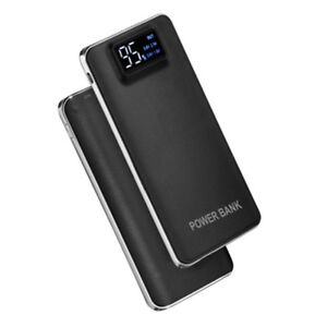 Power Bank 20000mAh Digital Banco de Energía Portable Batería Externa Dual USB