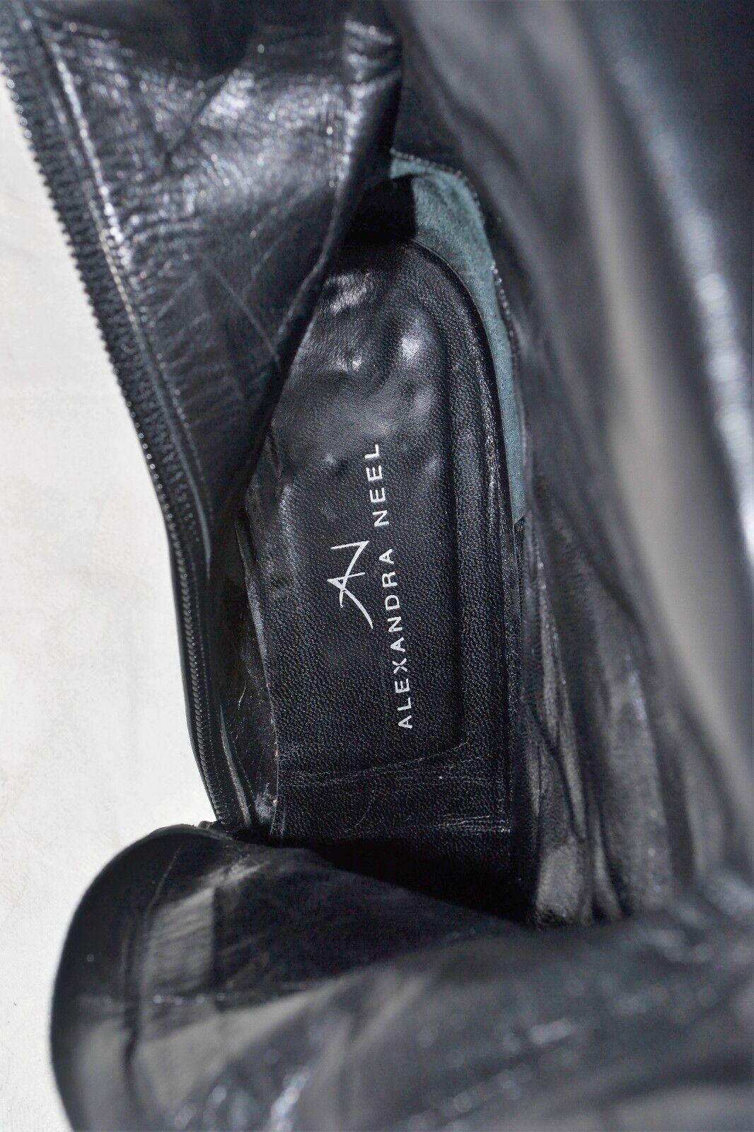 ALEXANDRA NEEL Größe 5 / 38 Genuine Designer RARE RARE RARE Corset Button Leder Stiefel VGC b20ce3