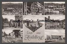 225 P  Ansichtskarte  AK   Gruß aus  Heidelberg    8 Motive    BW