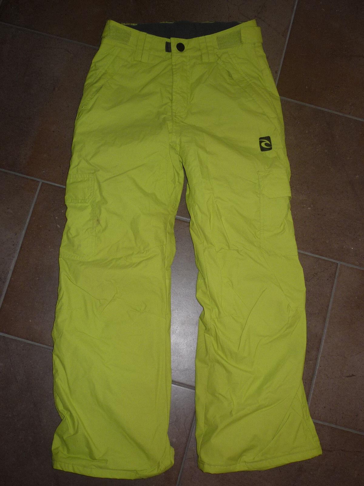 TOP RIP CURL Junior Ski Pants Pants Pants Skihose Snowboardhose neon grün Gr.140 b8b11c