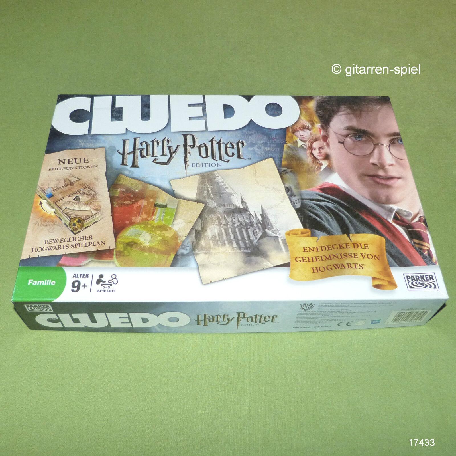 Cluedo Harry potter Edition neufs avec Poudlard-Plan Parker RAR 1 A Top