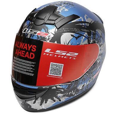 LS2 Helmets - FF352 - Phobia - Blue