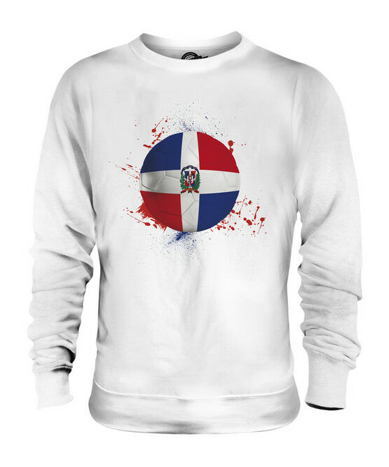 DOMINICAN REPUBLIC FOOTBALL UNISEX SWEATER  TOP GIFT WORLD CUP SPORT