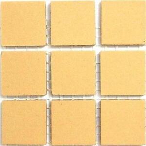 2cm Unglazed Ceramic Tiles 49 tiles Mid Green mosaic tiles