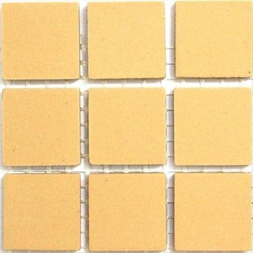 Cognac 20mm Ceramic Unglazed Porcelain Mosaic Tiles 49 Tile Pack
