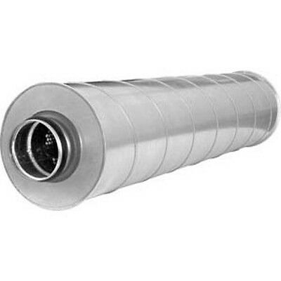 Gehorsam Schalldämpfer Slu 50 Mm Isolierung L=900/600mm Ø100/125/150/160200/224/250mm Elegant Im Stil